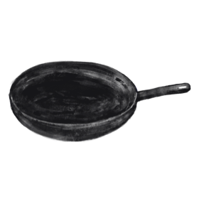 Heat vegetable oil to 350°F and fry for 2-3 minutes.