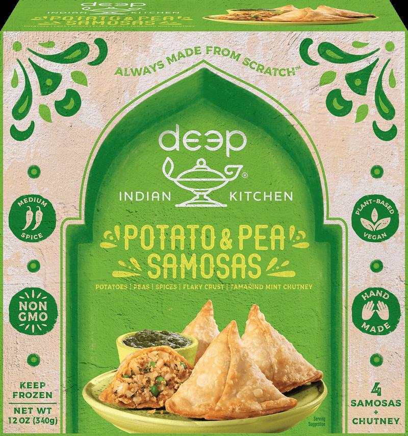Potato & Pea Samosas