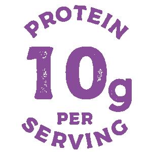Protein 10g Per Serving.